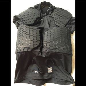 Nike Pro Combat Hyperstrone Football Padded Shirt